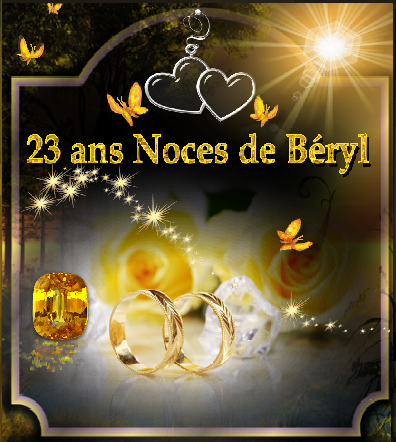 anniversaire de mariage beryl