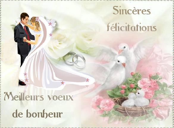 Assez felicitations mariage maries UW49