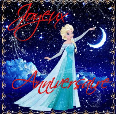 Joyeux Anniversaire Reine Des Neiges