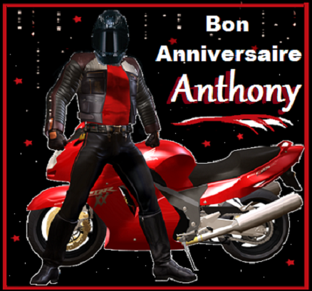 Bon Anniversaire Anthony