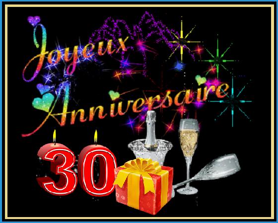 30 Ans Joyeux Anniversaire