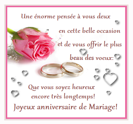 Carte Anniversaire Mariage.Anniversaire De Mariage Noces D Or Etc