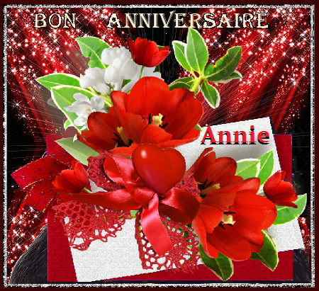 Bon Anniversaire Annie