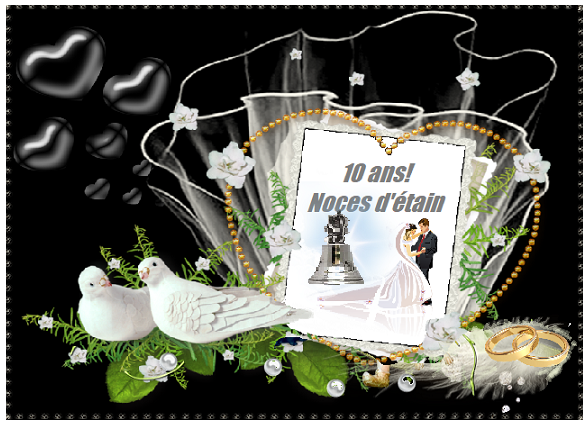 anniversaire de mariage noces d or etc. Black Bedroom Furniture Sets. Home Design Ideas