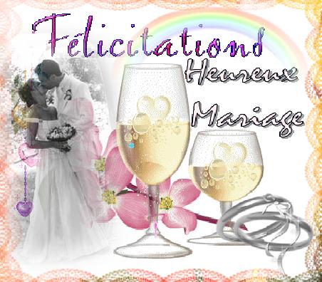 felicitations mariage maries page 2. Black Bedroom Furniture Sets. Home Design Ideas
